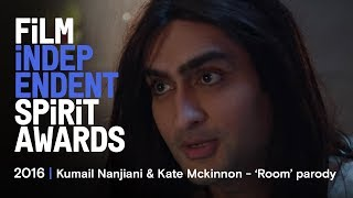 Download ROOM parody - Kate McKinnon & Kumail Nanjiani | 2016 Film Independent Spirit Awards Video