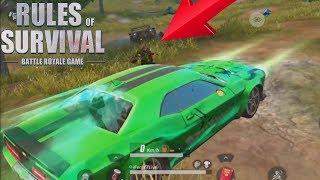 Download HIDING in My NEW CAR SKIN While Players Drive IT in Rules Of Survival ! Video