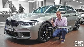 Download Upgrades for My BMW M5 at BMW Individual! | GARAGE Video