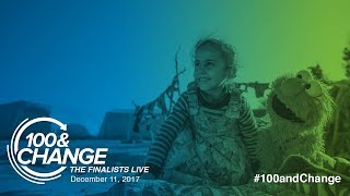 Download Sesame Workshop and the International Rescue Committee | 100&Change: The Finalists Live Presentation Video