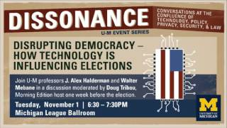 Download Dissonance - Disrupting Democracy: How Technology is Influencing Elections Video
