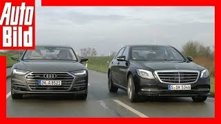Download Audi A8 gegen Mercedes S-Klasse (2018) Vergleich/Test/Review/Details Video