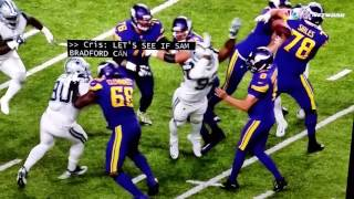 Download Sam Bradford takes a hit to head Vikings Video