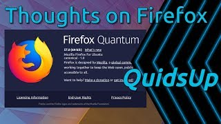 Download My Thoughts On Firefox 57 Quantum Video