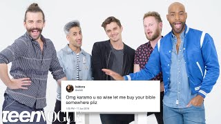 Download Queer Eye Cast Compete in a Compliment Battle | Teen Vogue Video