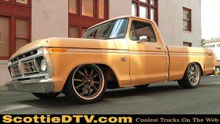 Download 1976 Ford F100 ″Brown Burro″ Coyote Swap Daily Driver Big Oak Garage Video