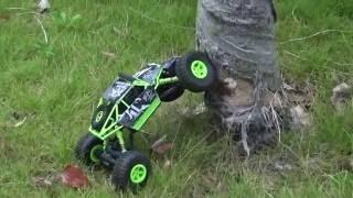 Download Original JJRC NO.Q22 1/18 2.4G 4WD RTR Rock Crawler RC Car Video