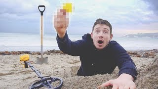 Download I Went Metal Detecting & You Won't Believe What I Found… (Treasure Hunt Challenge) Video