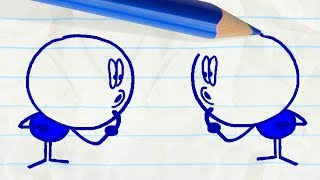 Download TWIN GEEKS & More Pencilmation Cartoons Video