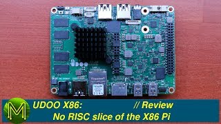 Download UDOO X86: No RISC slice of the X86 Pi // Review Video