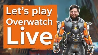 Download Johnny plays 2 hours of Overwatch gameplay - Live stream Video