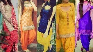 Download Top 20 Panjabi Patiyala Salwar Kameez/suits/kurta/kurti Designs 2017 || Panjabi Dresses Designs Video