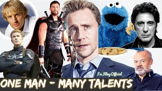 Download Tom Hiddleston Hilarious Celebrity Impressions - Try Not To Laugh 2018 Video