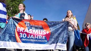 Download 30 Years of Erasmus Flagmob ESN Vienna Video