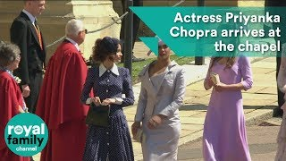 Download Royal Wedding: Priyanka Chopra arrives at the chapel Video