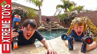 Download Sneak Attack Squad Vs. Dad! Nerf Rival Showdown! Video