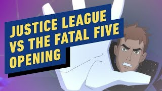 Download Justice League vs. The Fatal Five - Opening Scene Video