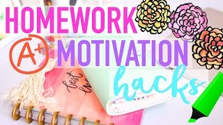 Download Homework Motivation Hacks | WANT TO DO YOUR HOMEWORK!!! Video
