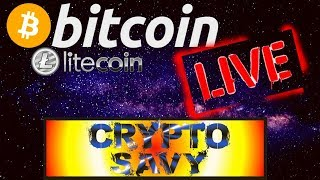 Download 🌟Crypto Savy Live Stream🌟bitcoin litecoin price prediction, analysis, news, trading Video