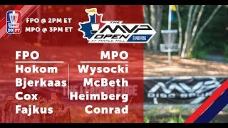 Download Round Three 2018 MVP Open at Maple Hill - FPO & MPO Coverage Video