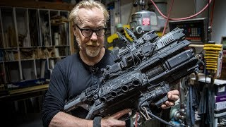 Download Adam Savage Geeks Out Over Weta Workshop Props from Spectral! Video