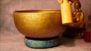 Download Giant Antique Nepalese Singing Bowl #GOO8 Video