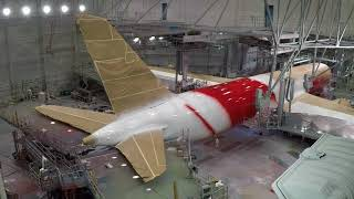 Download Qantas Dreamliner VH-ZND Livery Creation Video