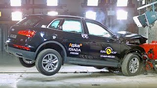 Download Audi Q5 (2017) Crash Tests [YOUCAR] Video