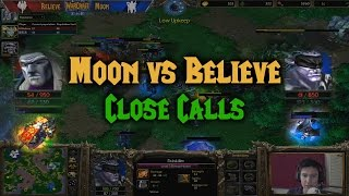Download Warcraft 3 | Moon (N) vs Believe (U) | CLOSE CALLS Video