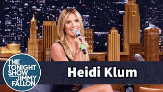 Download Heidi Klum Yodels a German Tune Video