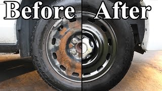 Download How to Paint the Wheels on your Car Video