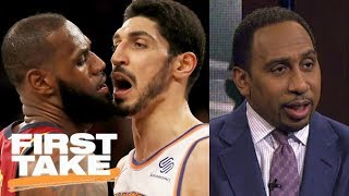 Download Stephen A. Smith sides with LeBron James in scuffle with Knicks | First Take | ESPN Video