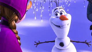 Download FROZEN Anna and Sven Meeting Olaf Scene (2013) Movie Clip Video