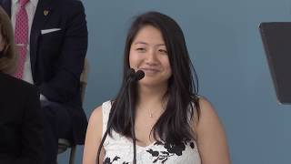 Download Harvard Female Orator Bessie Zhang | Harvard Commencement 2017 Video
