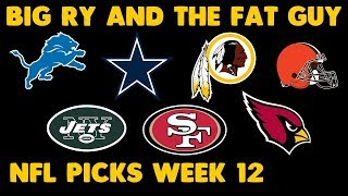 Download Who You Got? | Week 12 NFL Spread Picks 2017 Video