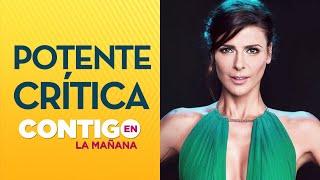 Download Patricia Maldonado: ''Lo que Tonka Tomicic hizo fue una grosería'' - Contigo en La Mañana Video