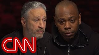 Download Jon Stewart, Dave Chappelle talk Trump and comedy tour Video
