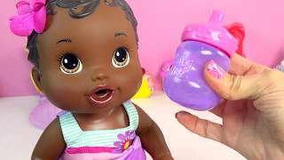 Download Baby Alive Bitsy Burpsy Up on Color Change Cloth Doll - Toy Video Cookieswirlc Video