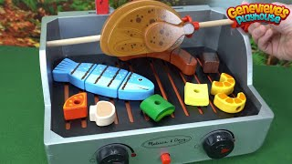 Download Learn Foods Names with Toy Grill for Kids! Video
