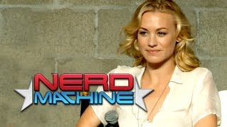 Download ″Chuck″ Conversation with Cast and Crew (Part 1) - Nerd HQ (2012) HD - Yvonne Strahovski Video