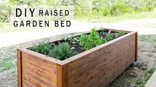 Download DIY Raised Garden Bed with Drawers Video