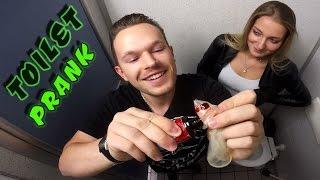 Download EXTREME TOILET PRANK! (Fire gun, bloody condom)   PvP Video