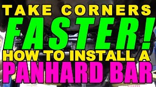 Download Take Corners Faster! How To Install a Panhard Bar Video
