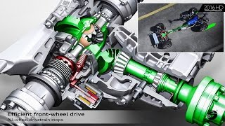 Download Audi Q5 – Animation quattro Drive System with Ultra Technology Video