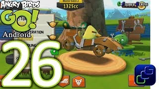 Download Angry Birds GO! Android Walkthrough - Part 26 - STUNT: Track 3 - Chuck Video