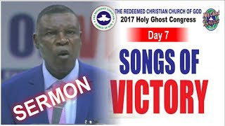 Download Pastor J.O Obayemi Sermon @ RCCG 2017 HOLY GHOST CONGRESS #Day7 Thanksgiving Service Video