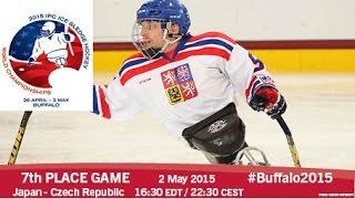 Download Japan v Czech Rep. | 7th place | 2015 IPC Ice Sledge Hockey World Championships A-Pool, Buffalo Video
