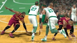 Download NBA 2K17 My Career - Kyrie Touches the Flat Earth! PS4 Pro 4K Video