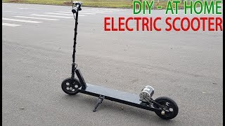Download How To Make A Electric Scooter At Home Video