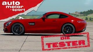 Download Mercedes AMG GT: Es muss nicht immer ein 911er sein - Die Tester   auto motor und sport Video